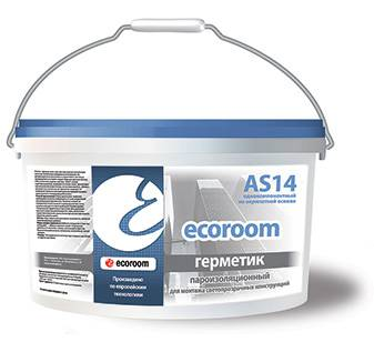 Герметик ecoroom AS 14 пароизоляционный для окон
