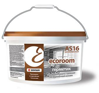 Герметик Ecoroom AS 16 для деревянного строения